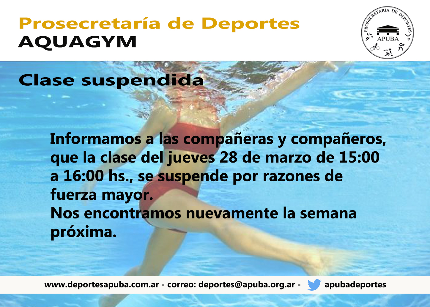 Case suspendida
