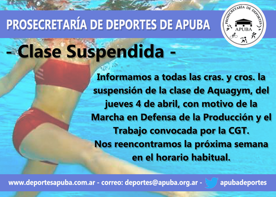 CLASE SUSPENDIDA PARO GENERAL_2019